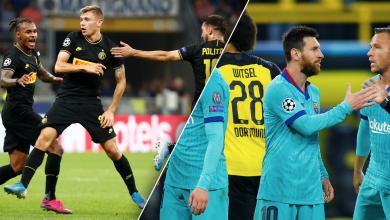 Photo of برشلونة يتعادل مع دورتموند.. والإنتر ينجو من الخسارة على ملعبه