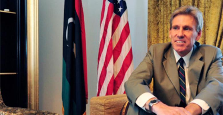 السفير الأميركي لدى ليبيا كريستوفر ستيفنز