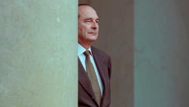 صورة رحيل الرئيس الفرنسي السابق جاك شيراك