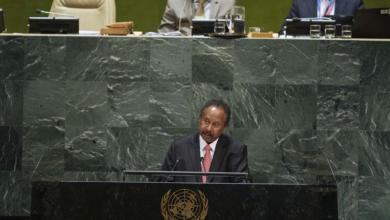 صورة حمدوك يُطالب أمريكا برفع السودان من قائمة الإرهاب