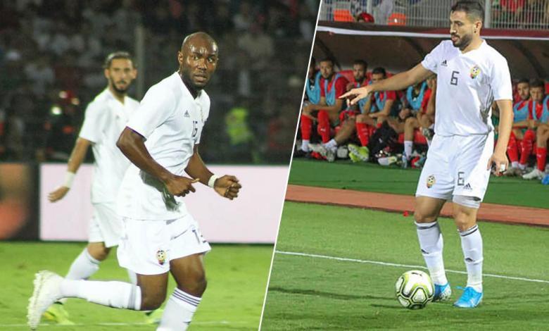 إصابة الترهوني والمصراتي في مباراة المغرب