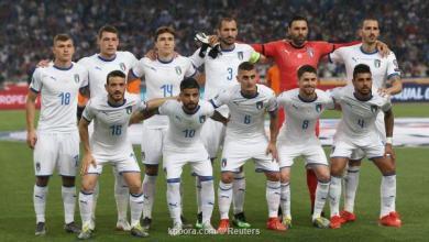 Photo of إيطاليا تواجه اليونان لحجز تذكرة التأهل لليورو