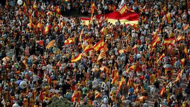 """Photo of احتجاجات في إسبانيا بعد صدور أحكام بحق """"انفصاليين"""""""