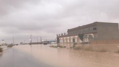 Photo of بوادر أزمة نزوح بسبب الأمطار في طبرق
