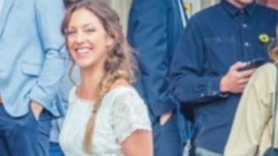 صورة قصة عروس صنعت فستان زفافها من التبرعات