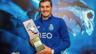Photo of كاسياس يحصد جائزة أفضل حارس بالدوري البرتغالي
