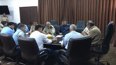 Photo of اجتماع أمني لوضع خطة لتأمين مناطق الجبل الغربي