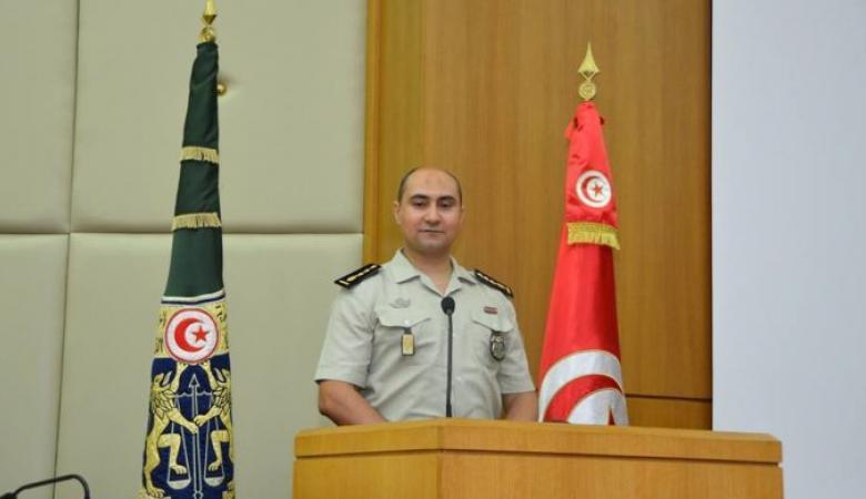 الناطق الرسمي باسم الحرس الوطني التونسي العقيد حسام الدين الجبابلي