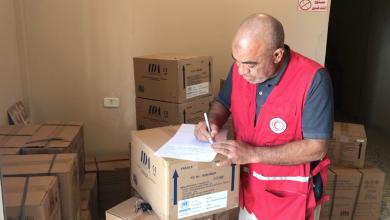 Photo of الهلال الأحمر يوصل شحنات لمرافق صرمان الطبية