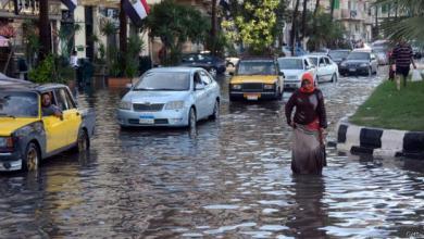 Photo of الأمطار الغزيرة في مصر تُخلّف 8 قتلى