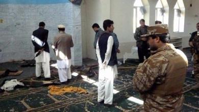 Photo of مقتل 62 مُصلّياً بانفجار مسجد شرق أفغانستان