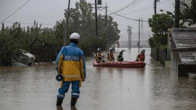 """Photo of ارتفاع حصيلة قتلى الإعصار """"هاغيبيس"""" في اليابان"""
