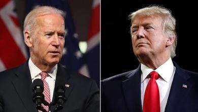 ترامب - جو بايدن