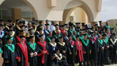 Photo of جامعة سبها تحتفل بتخريج الدفعة الـ40