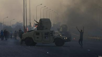 Photo of حظر للتجول في بغداد. والطلاب ينضمون للاحتجاجات