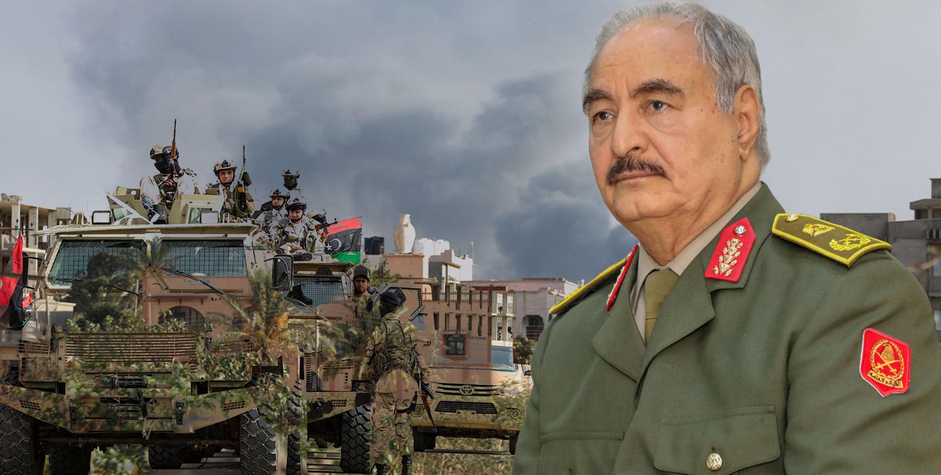 خليفة حفتر - اشتبكات طرابلس - الجيش الوطني