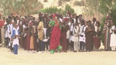 صورة معفن تحتضن تجمعا فنيا كبيرا بمشاركة 300 طفل