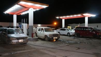 صورة بلدية سبها تعلن وصول 11 ناقلة بنزين للمدينة
