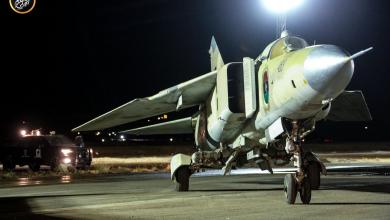 Photo of سلاح الجو ينفذ عدة ضربات على مواقع بالكلية الجوية مصراتة