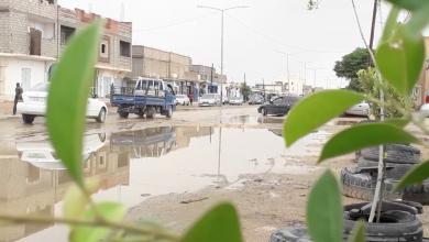Photo of مياه الأمطار تفضح تهالك البنى التحتية بالغريفة