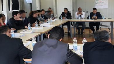صورة متاجر بالبشر ممثلا لليبيا في اجتماعات بإيطاليا