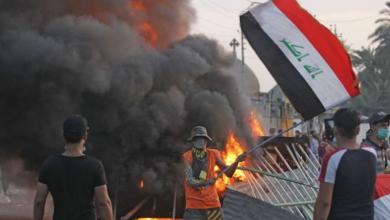 Photo of احتجاجات العراق الدامية تصل مدينة الصدر