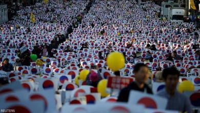 "Photo of ""فضيحة فساد"" تُشعل غضب الآلاف بكوريا الجنوبية"