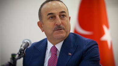 """صورة وزير خارجية تركيا: """"ماكرون ديكٌ يصيح"""""""