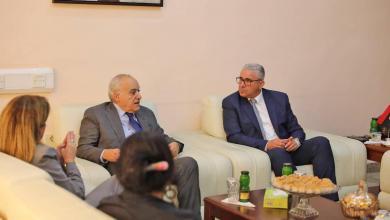 Photo of باشاغا يلتقي سلامة ونائبته في طرابلس