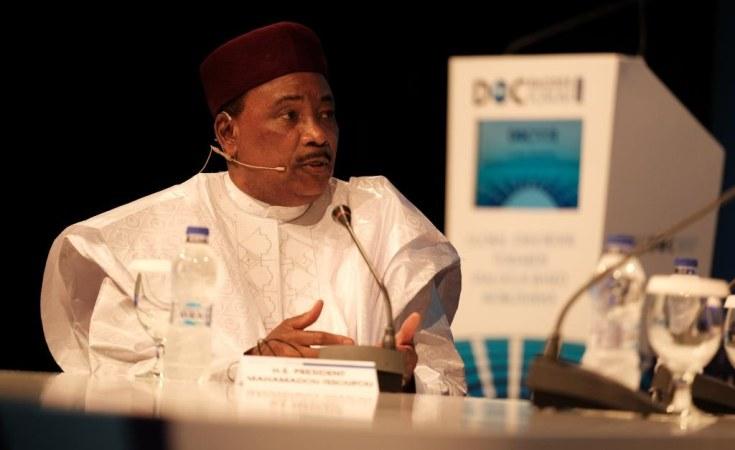رئيس النيجر محمدو إيسوفو