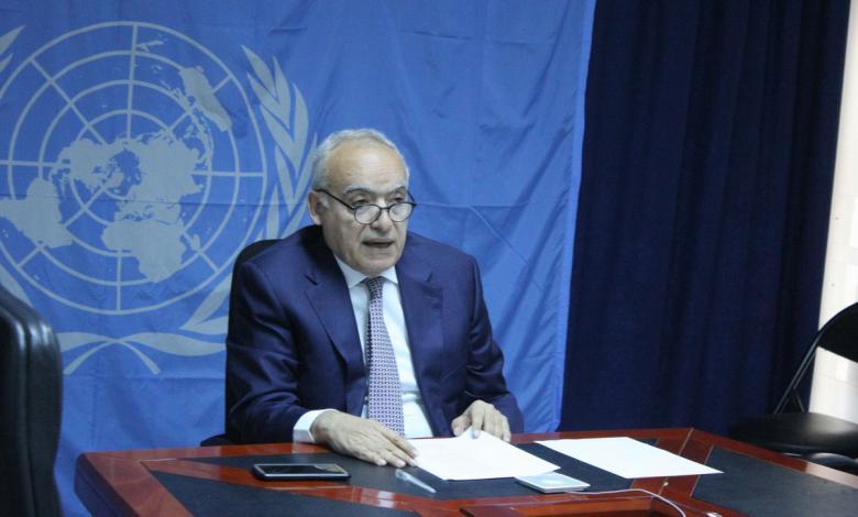المبعوث الأممي إلى ليبيا غسان سلامة- صورة إرشيفية