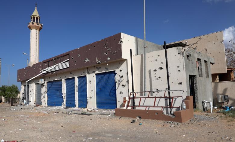 منظمة حقوقية تدين القصف العشوائي على المدنيين في طرابلس