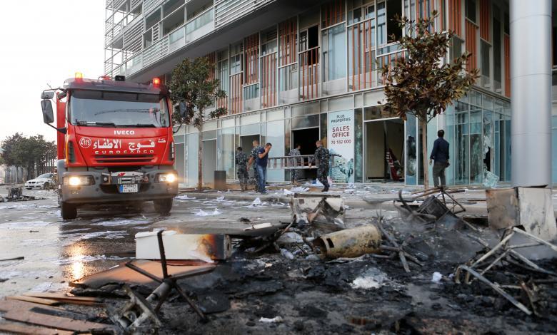 الوكالة الوطنية اللبنانية للأنباء تُعلن عن وفاة اثنين بالقرب من موقع الاحتجاجات
