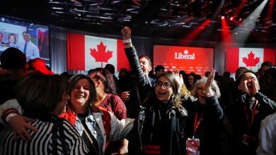 Photo of الحزب الليبرالي بزعامة جاستن ترودو يتصدّر الانتخابات التشريعية في كندا