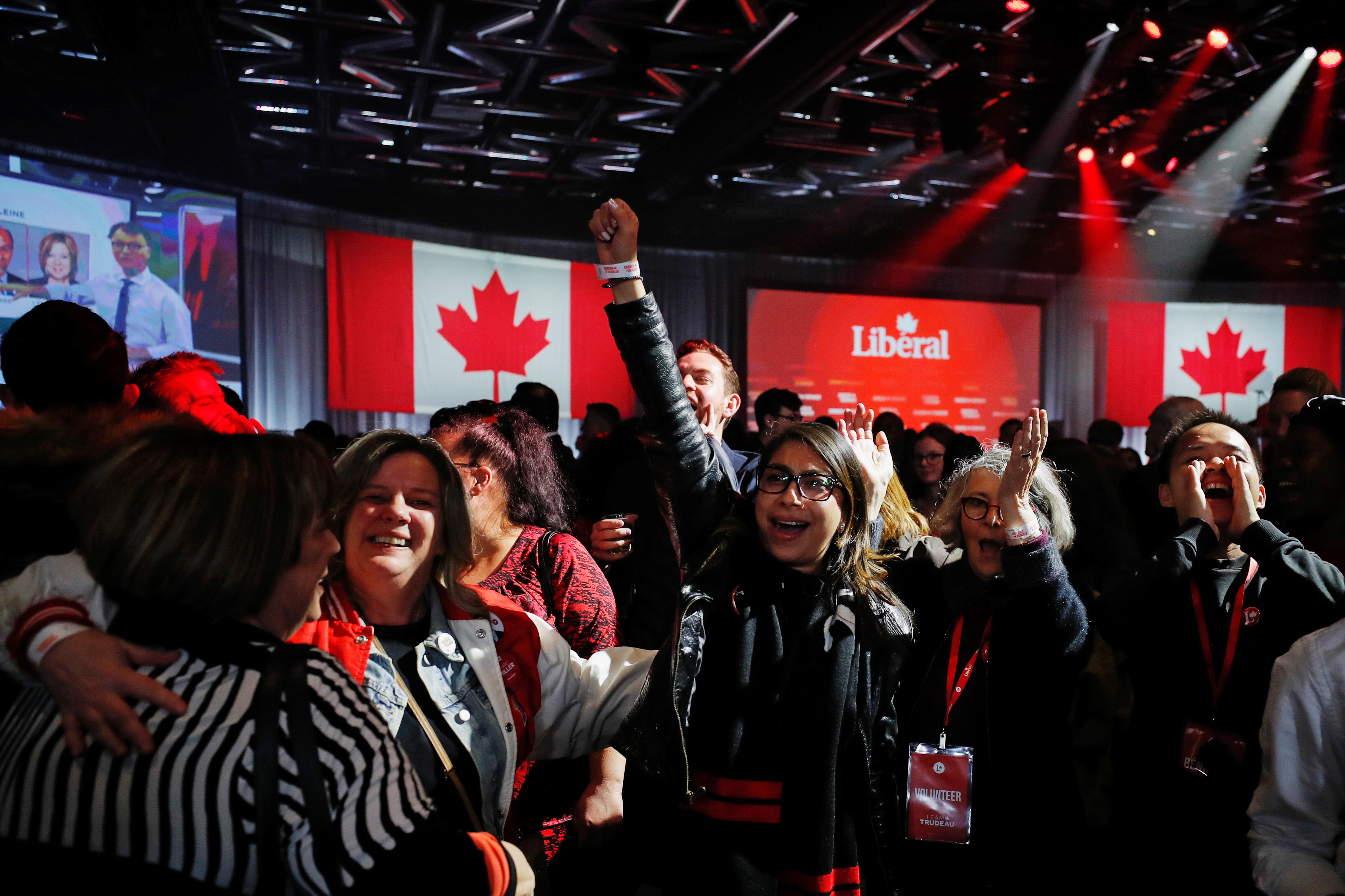 الحزب الليبرالي بزعامة جاستن ترودو يتصدّر الانتخابات التشريعية في كندا