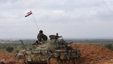 صورة قوات النظام السوري تتقدم على جبهة منبج