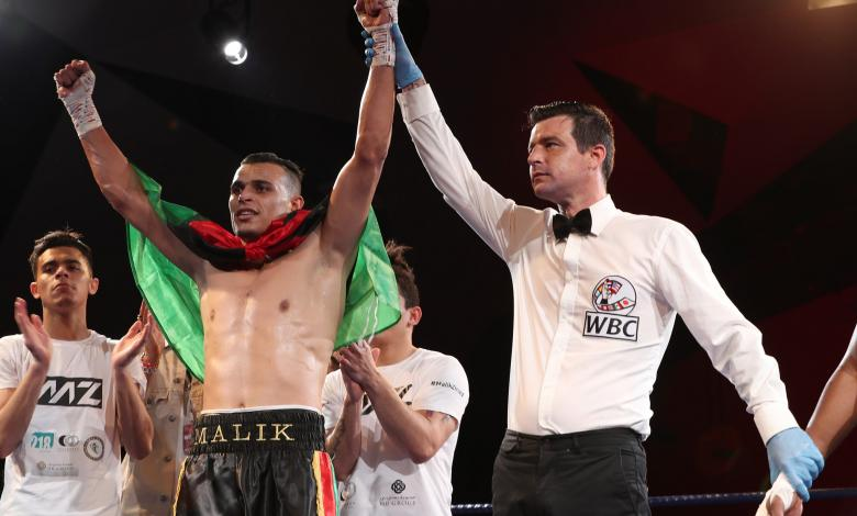 الملاكم الليبي مالك الزناد - ارشيفية