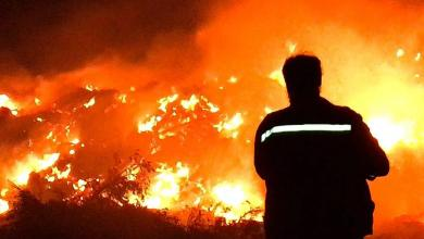 Photo of مراسل 218: اندلاع حريق بمنطقة شيحا الغربية في مدينة درنة