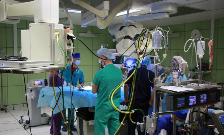مركز بنغازي الطبي- صورة إرشيفية