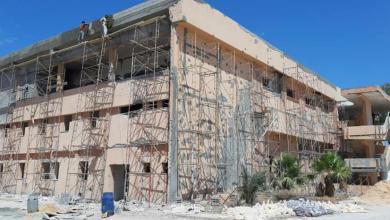 Photo of تواصل أعمال الصيانة لموقع مراقبة التعليم في سرت