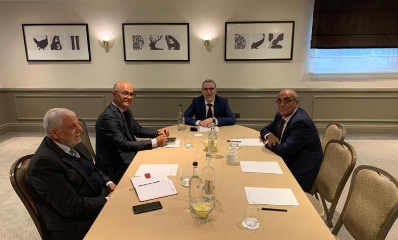 المؤسسة الوطنية للنفط تعقد سلسلة اجتماعات في لندن