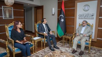 Photo of المشري يلتقي السفير التركي لدى ليبيا لبحث التطورات الميدانية في سوريا