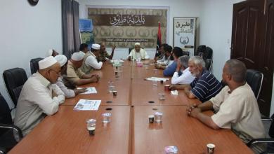 Photo of المجلس التسييري طبرق وشركة المياه يبحثان أزمة المياه في حي النصر