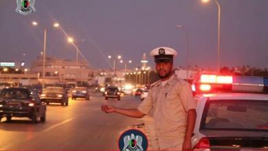 """صورة تفعيل """"الرادارات"""" على الطريق السريع في بنغازي"""