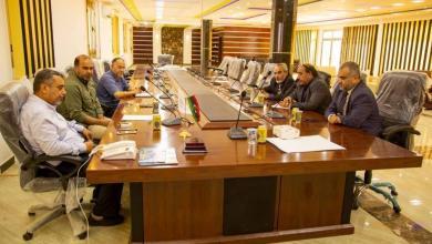 Photo of مصلحة المطارات تناقش خطة تطوير مطار بنينا الدولي