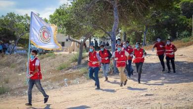صورة صبراتة تنظم احتفالية بمناسبة ذكرى تأسيس الجمعية العامة للهلال الأحمر الليبي