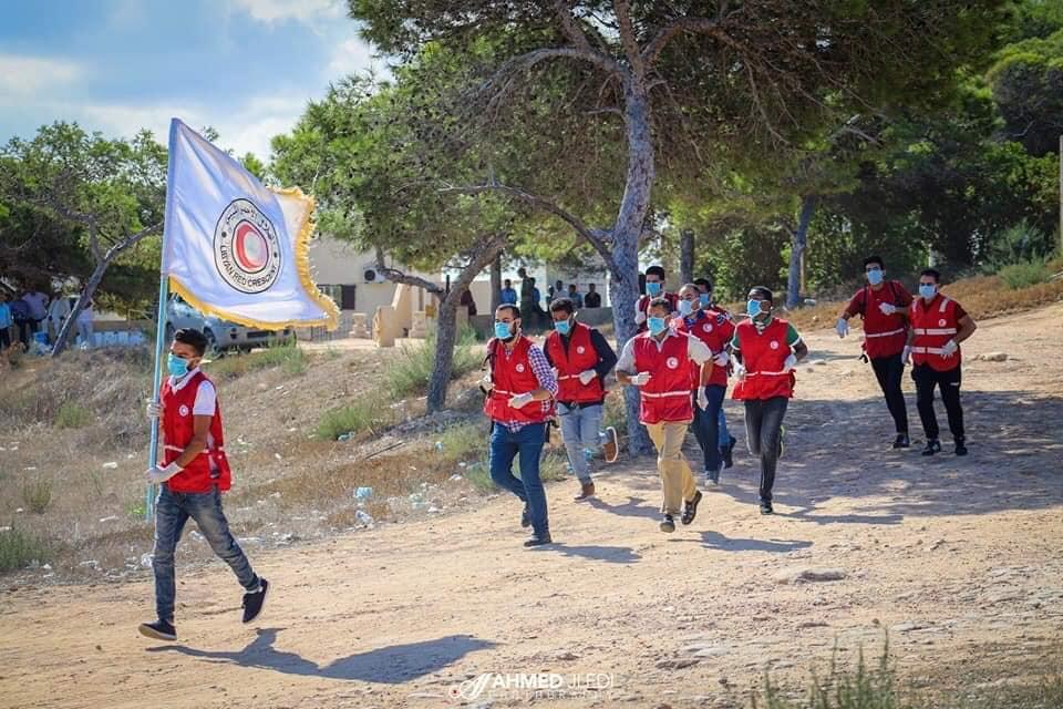 صبراتة تنظم احتفالية بمناسبة تأسيس الجمعية العامة للهلال الأحمر الليبي