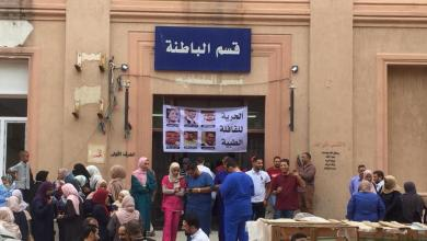 صورة نشطاء يعلنون عن وقفة تضامنية مع القافلة الطبية المختطفة اليوم في طرابلس