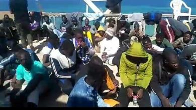 "Photo of البحرية الليبية تمنع ""كارثة"" قبالة تاجوراء"