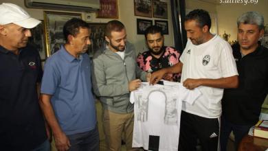 صورة المنتصر يشارك في احتفالات نادي المدينة
